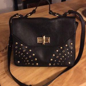 Belle Badgley Mischka leather crossbody
